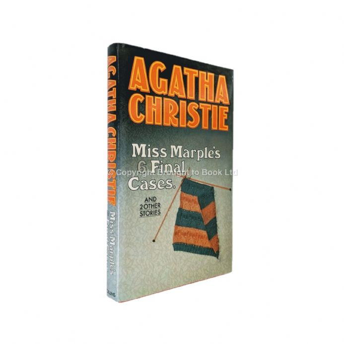 Miss Marple's Final Cases and Two Other Stories by Agatha Christie First Edition Collins 1979